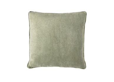 Fabric cushions - Green cotton cushion AX70198 - ANDREA HOUSE