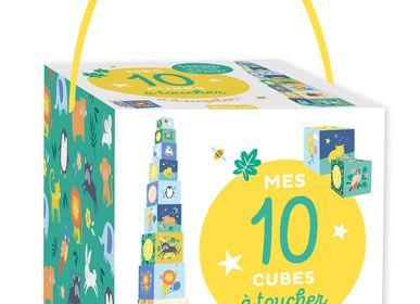 Jouets - Mes 10 cubes gigognes - AUZOU