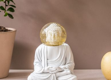 Objets de décoration - Globes d'été / Le Bouddah Blanc - DONKEY PRODUCTS