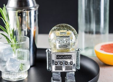 Decorative objects - Summerglobes / The Robot Silver - DONKEY PRODUCTS