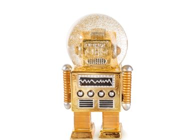 Decorative objects - Summerglobes / The Robot Gold - DONKEY PRODUCTS