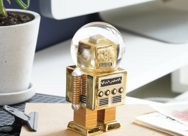 Decorative objects - Summerglobes / The Robot Gold - DONKEY PRODUCTS GMBH & CO. KG