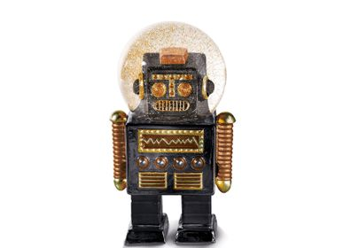 Decorative objects - Summerglobes / The Robot Black - DONKEY PRODUCTS