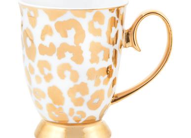 Tea / coffee accessories - Louis Leopard Mug - CRISTINA RE