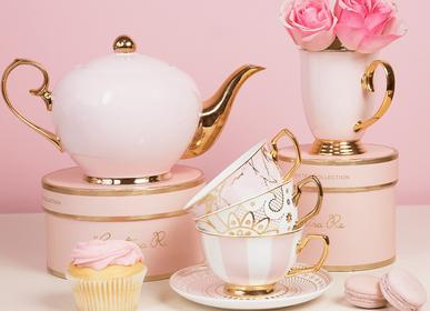 Mugs - Blush Teapot - 4-Cup - CRISTINA RE