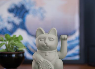 Decorative objects - Maneki Neko / Lucky Cat / Grey  - DONKEY PRODUCTS
