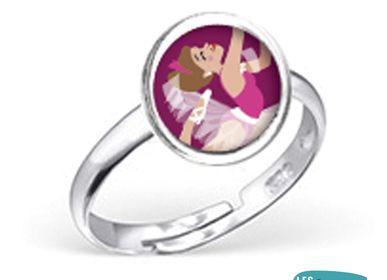 Kids accessories - Ring Les Minis Ballerine - LES MINIS D'EMILIE FIALA