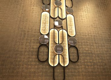 Wall lamps - Siderale wall lamp - ATELIER LANDON