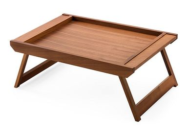 Tea / coffee accessories - Serving tray with folding legs - BREKA