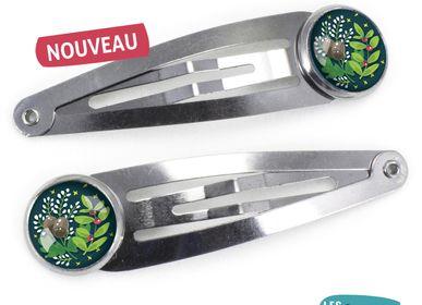 Accessoires cheveux - Barrettes Les Minis Glands - LES MINIS D'EMILIE FIALA