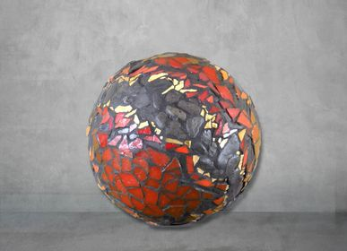 Unique pieces - Abstract Sphere - ATELIER DE MOSAIQUE L.TORNO