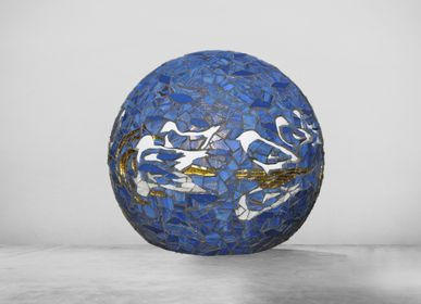 Unique pieces - Sphere Reflections - ATELIER DE MOSAIQUE L.TORNO
