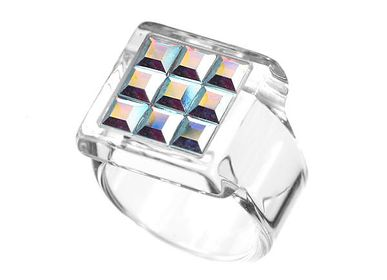 Bijoux - Bague SATELLITE SQUARE - MIRAVIDI