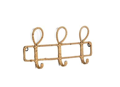 Decorative objects - Rattan wall hook AX70232 - ANDREA HOUSE