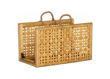 Organizer - Bamboo magazine rack AX70235 - ANDREA HOUSE