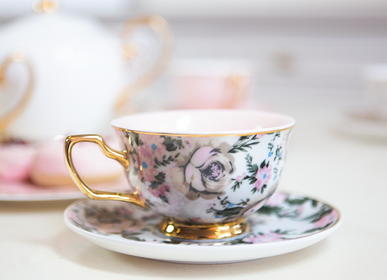 Tea / coffee accessories - Belle de Fleur Teacup - CRISTINA RE