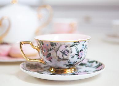 Accessoires thé / café - Tasse à thé Belle de Fleur - CRISTINA RE