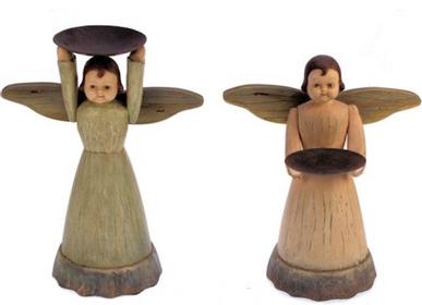 Christmas decoration - Angels' candle holder - MEANDER