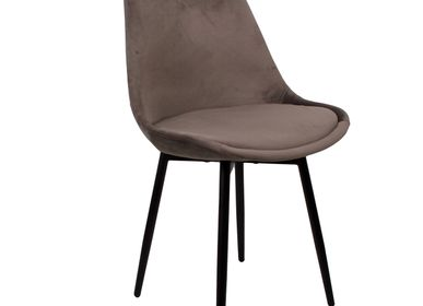 Chaises - Leaf chair dark grey - POLE TO POLE
