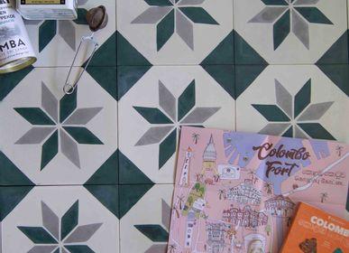 Crédence - Carreaux de Ciment Londres - ILOT COLOMBO