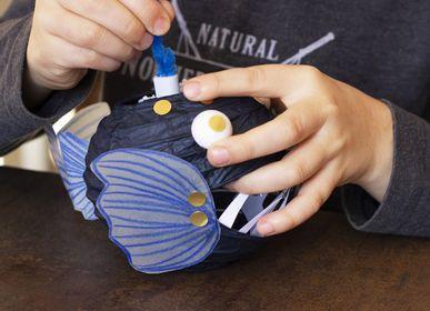 """Cadeaux - Kit Loisirs créatifs et éducatif """"Au fond des océans"""" - Jouets DIY enfant - L'ATELIER IMAGINAIRE"""