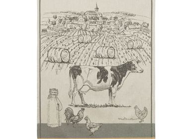 Tea towel - Vaches Laitières / Tea towel - COUCKE