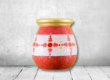 Design objects - Red Jar - ATELIER DE MOSAIQUE L.TORNO