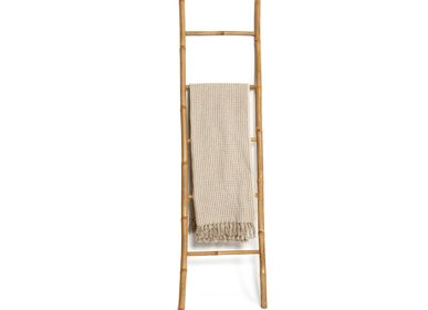 Decorative objects - Bamboo decorative ladder BA70015 - ANDREA HOUSE