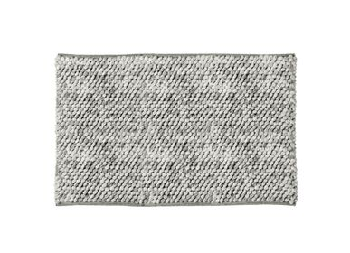 Mounting accessories - Pearls grey bath mat BA70092 - ANDREA HOUSE