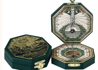 Objets de décoration - Cadran Solaire - Octogonal Laiton  - HEMISFERIUM
