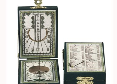 Decorative objects - Sundial -Paper Pizarro - HEMISFERIUM