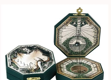 Decorative objects - Sundial - Paper Octogonal  - HEMISFERIUM