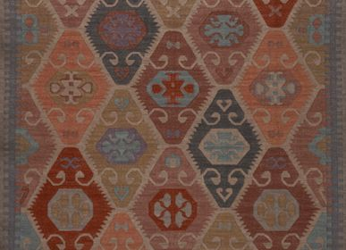 Classic - Woolen Dhurrie rug - AZMAS RUGS
