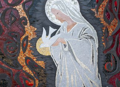 Wall decoration - The Ultimate Hope - ATELIER DE MOSAIQUE L.TORNO