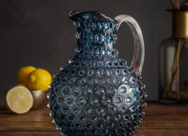 Carafes - Blue grey pitcher 2Ldiamond tip* - CHEHOMA