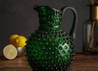Carafes - Emerald pitcher 2L diamond tip N/A in NO&SE - CHEHOMA