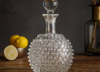 Carafes - Jug and stopper 1L diamond tip - CHEHOMA