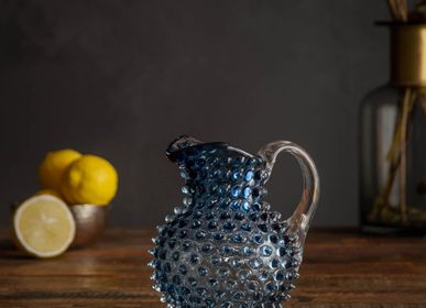 Carafes - Carafon grey blue 50cl diamond tip - CHEHOMA