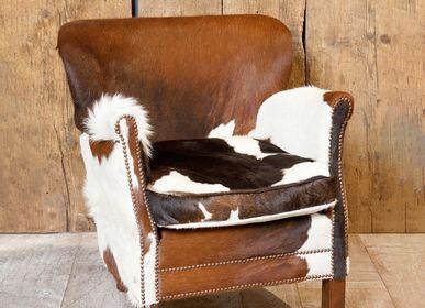 "Armchairs - Cow armstool ""Turner"" - CHEHOMA"