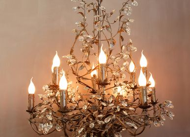"Hanging lights - ""Rambouillet"" CH 12w/crystals - CHEHOMA"