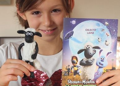 """Loisirs créatifs - Kit de loisirs créatifs et éducatif """"Shaun le mouton"""" - jouets DIY enfant - L'ATELIER IMAGINAIRE"""