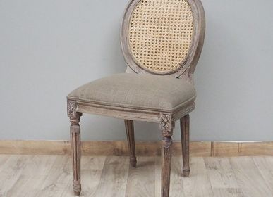 "Chairs - Chair with cane back ""Valbelle"" - CHEHOMA"