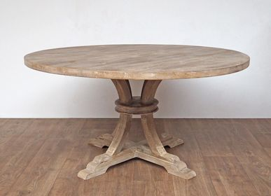 "Tables - Round dining table ""Valbelle"" - CHEHOMA"