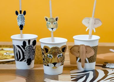 Birthdays - 6 Savannah Cups - Compostable - ANNIKIDS