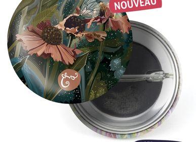 Ready-to-wear - Badge Les Parisiennes Helenium - LES PARISIENNES D'EMILIE FIALA