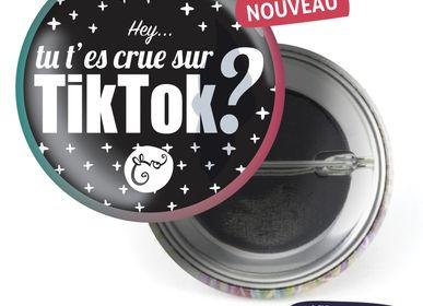 Ready-to-wear - Badge Les Parisiennes TikTok - LES PARISIENNES D'EMILIE FIALA