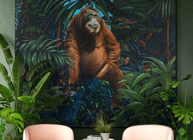 Affiches - TABLEAU PEINTURE - Le prophète - 200 x 200 cm - Acrylique sur toile - Maison Fétiche - MAISON FÉTICHE