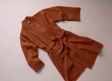 Peignoirs - PEIGNOIR WAFFLE kimonostyle - SUITE702