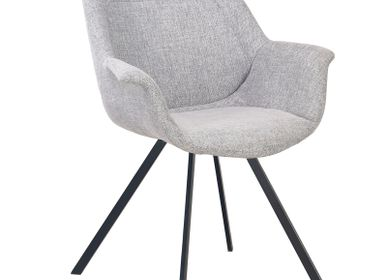 Fauteuils - Ray Arm Chair grey - POLE TO POLE