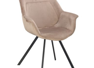 Fauteuils - Ray Arm Chair sand white - POLE TO POLE